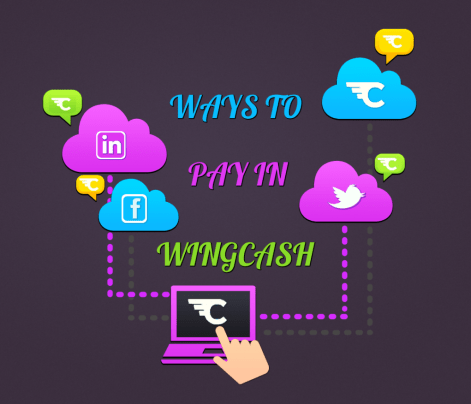 Ways to pay in WingCash