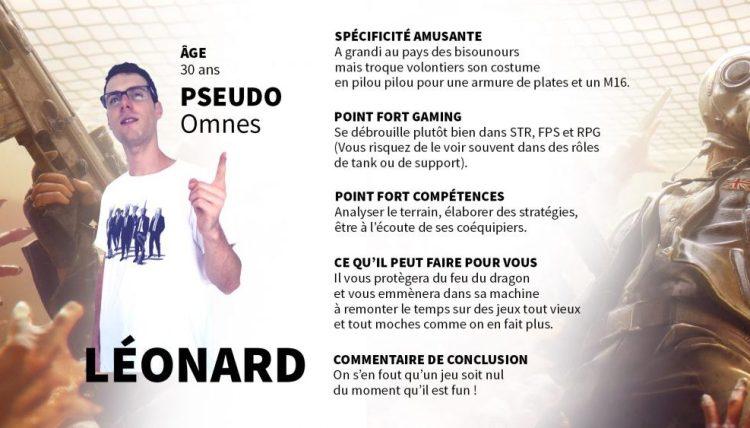 Présentation Léonard