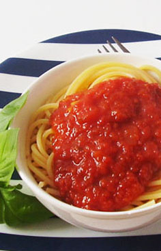 Tomato Salsa: Frugal and best spaghetti sauce ever !
