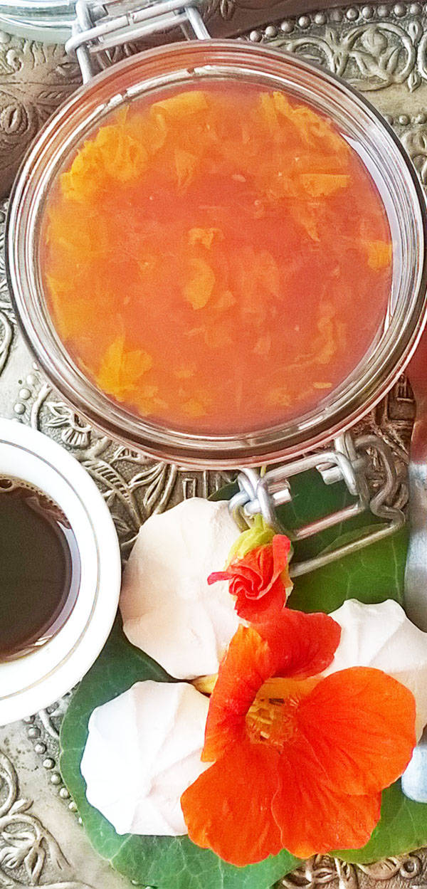 Nasturtium Elderflower Jam: I make a jam when Life gives me flowers.
