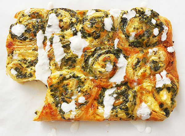Spinach Ricotta Rolls: delicious and easy to prepare !