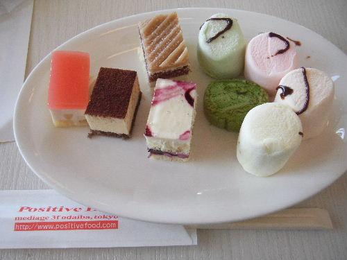 カピバラさん キュルッとカフェ in お台場 2010 ケーキ ビュッフェ
