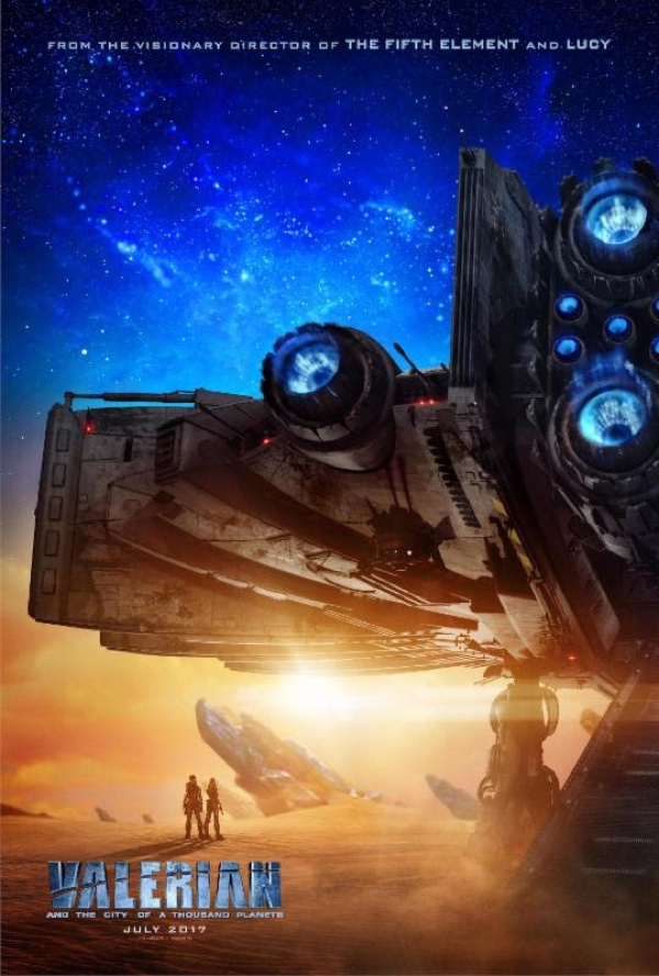 valerian Valerian And the City Of A Thousand Planets