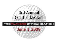 ProPlayers Foundation Golf Tournament
