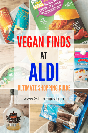 20+ Vegan Finds at Aldi - The Ultimate Shopping Guide - 2SHAREMYJOY