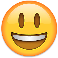 Smiley emoji PNG