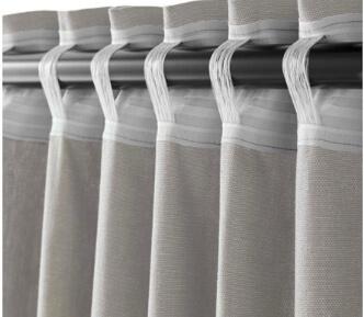 transform ready made curtains to custom