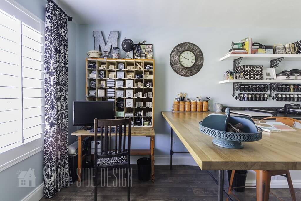 Office Craft Room Organization Ideas Sunny Side Design
