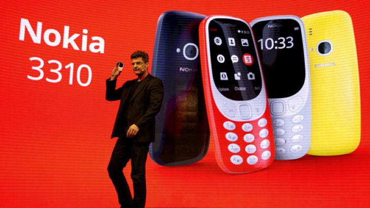 Comeback til den legendariske Nokia 3310