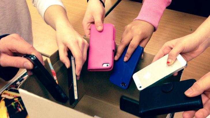 Totalt Forbud mod mobiler på skoler i Vejle