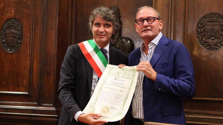 Elkjær udråbt som æresborger i Verona