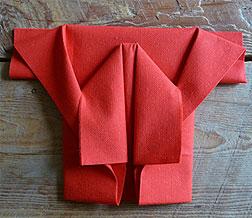 Pliage En Papier Raliser Un Kimono En Papierpliage De