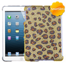 Brown iPad Mini MyBat Leopard Bling Case