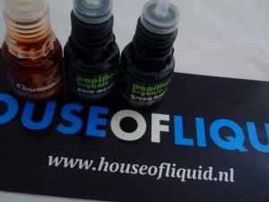 Drie gekregen Dampvloeistof House of Liquid Review