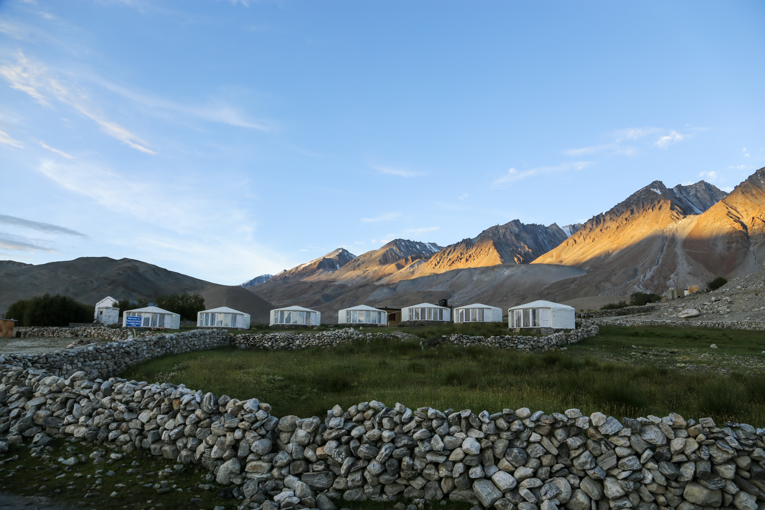 Lake Pangong Camp