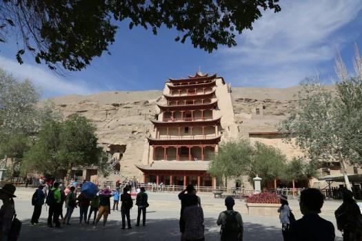 Mogao Caves at Dunhuang