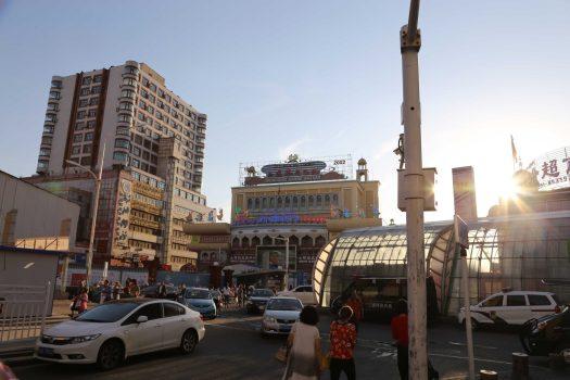 Street scene in Urumqi