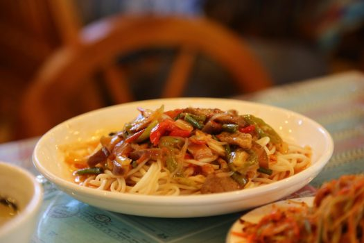 Xinjiang cuisine uighur cuisine la mian ban mian
