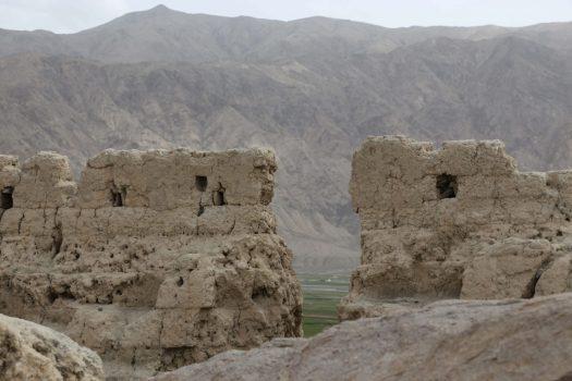 tashkorgan stone fortress ruins