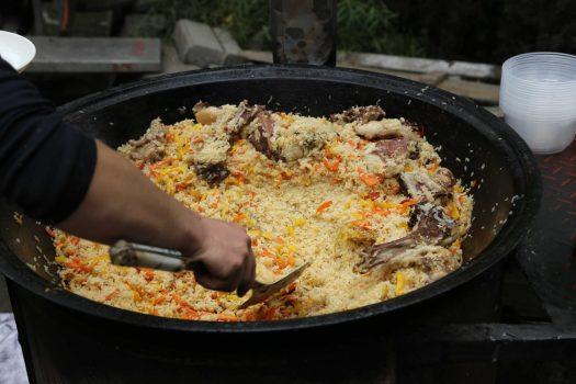 Xinjiang cuisine uighur cuisine pilaf plov
