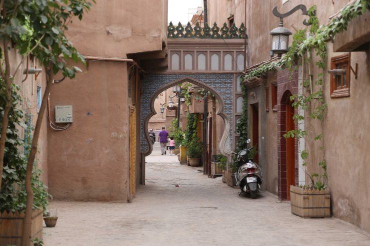 The Islamic architecture of the Kashgar Old City
