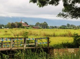 Nyaung Shwe Inle Lake Landscape