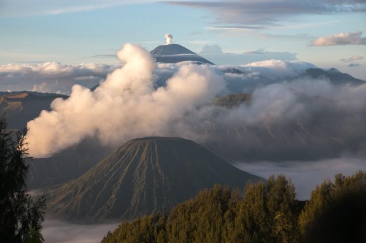 Mount Semeru from Mount Penanjakan