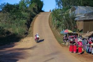Doi Angkhang mountain road