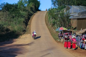 Doi Angkhang mountain road