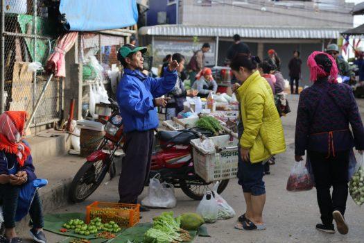 The morning market at Mae Salong