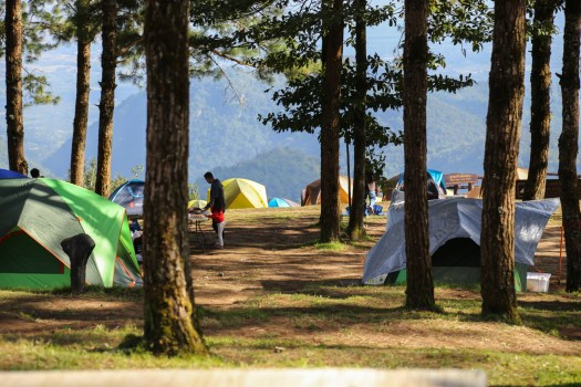 Campground in Doi Angkhang