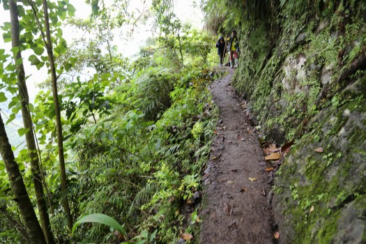 One of the easier walking trails in Batad