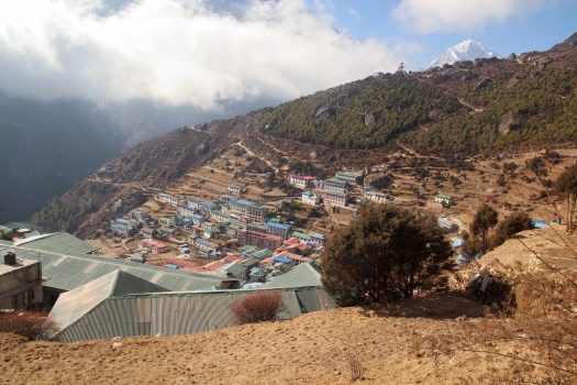 Namche Bazaar in the Everest Base Camp trek