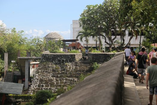 Fort San Pedro, just 5 minutes from the Basilica