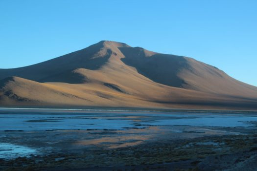High altitude lake in Bolivia