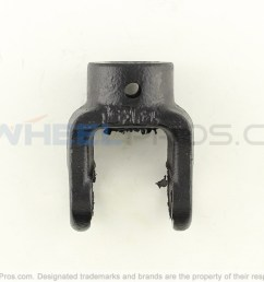 polaris 1350039 yoke prop shaft rear [ 1500 x 999 Pixel ]