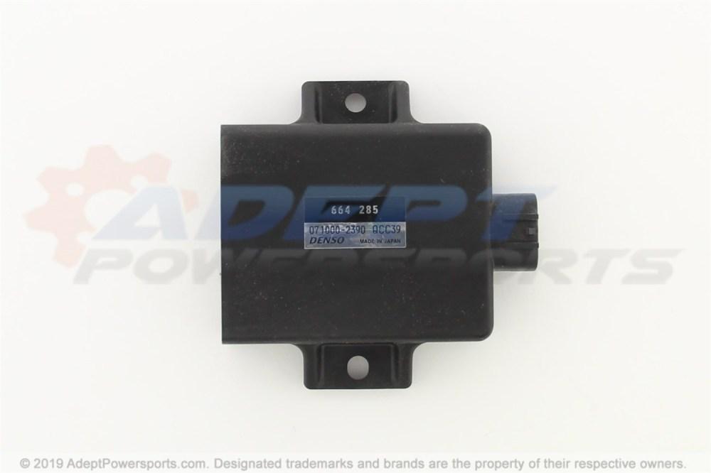 medium resolution of can am 420664285 amplifier box cdi