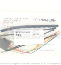 polaris 2204890 kit harness resistor module [ 1500 x 999 Pixel ]