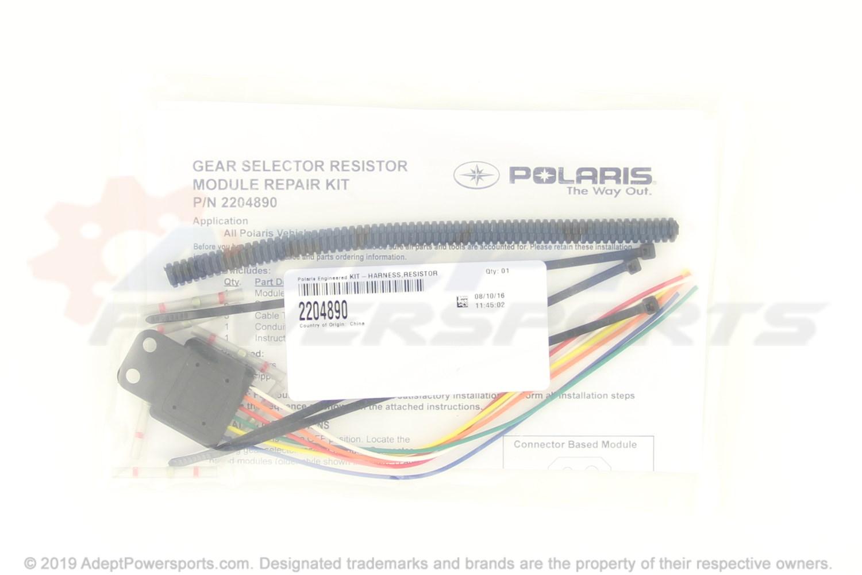hight resolution of polaris 2204890 kit harness resistor module