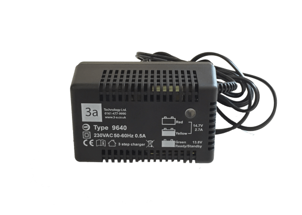 12V 2.7A Lead Acid – Type 9640 Battery Charger