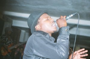 File photo of Mic Inity LIve on stage; Set to release reggae album soon