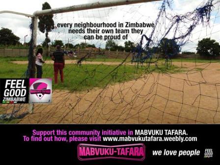 Carl Joshua Ncube's Mabvuku Tafara project