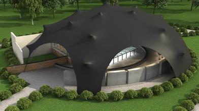 Concept image of how the new Theatre In The Park may look like