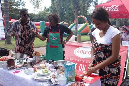 BRaai Naster challenge  at Rainbow Towers food Fest