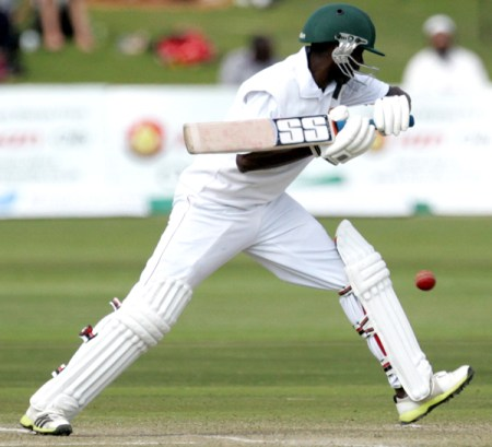 Richmond Mutumbami scored a gutsy 43 for Zimbabwe in their loss to South Africa - PIC: ZImbabwe Cricket