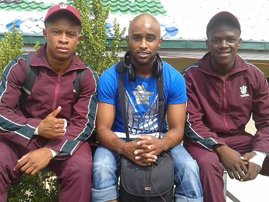 JJ with 2 PE  boys