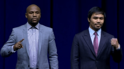Mayweather Vs. Pacquiao Press Conference