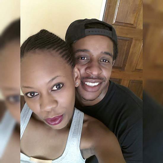 Trevor Dongo with fiance Ashley Maumbe