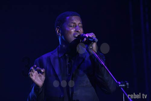 Kenneth Babyface Edmonds live in Harare PIC: 3-mob.com/Rebel TV