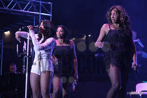 Toni Braxton  in Harare at Borrowdale Race Course on 28 August 2015 PIC: 3-mob.com/REBEL TV